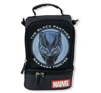 NWT Genuine Disney Store Black Panther Lunch Box Tote Bag School Avenger Marvel