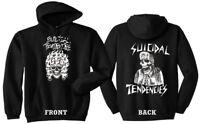 SUICIDAL TENDENCIES Official Flipskull Hoodie Punk Metal Dogtown