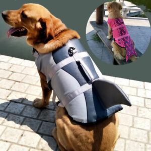 Pet Dog Life Jacket Swimming Safety Vest Belt / Handle Puppy Life Jacket