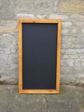 Chalkboard / blackboard large wooden/ memo menu board shabby chic 600 x 1200