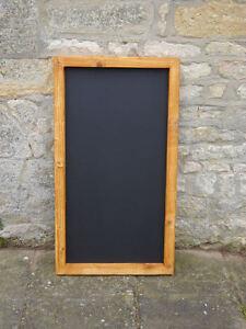 Chalkboard / blackboard large wooden/ memo menu /notice board 600 x 1000