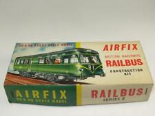 RARE AIRFIX OO & HO SCALE MODEL RAILWAY KIT BR Railbus Unmade Type 2 Box 1960s