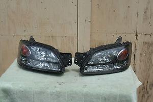 Subaru Liberty Legasy Outback BH Headlights HID Pair Japan