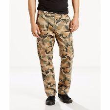 Levis 541 Mens Cargo Pants Athletic Fit New CAMO Size 32 x 34 Levi's NWT