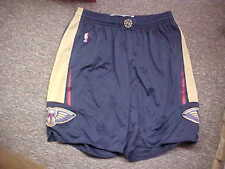 Nba 2014-2015 New Orleans Pelicans Player #35 Game Shorts Adidas Navy Size 3Xlt