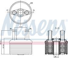 NISSENS 90664 Transmission Oil Cooler