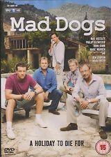 MAD DOGS - Series 1. Max Beesley, John Simm, Marc Warren, Ben Chaplin (DVD 2011)