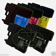 5 LC61 Ink Cartridge Set for Brother MFC-490CW Printer