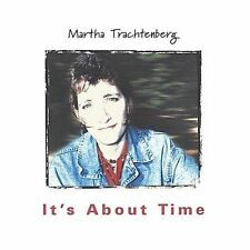 It's About Time CD by Martha Trachtenberg Folk Music 1999 Mom + Pop Records NEW