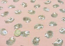 Felpi Igel 20.80 EUR/m rosé Sweatstoff Hilco Kinderstoff Babystoff Sweaty 25 cm