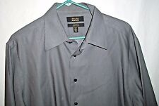 Murano Gold Label Size 16 1/2 - 33 Long Sleeve Button Up Dress Shirt