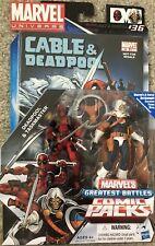 """MARVEL UNIVERSE 3.75"""" COMIC PACKS - GREATEST BATTLES - Deadpool & Taskmaster #36"""