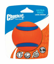 Chuckit!  Ultra Ball  Multicolored  Rubber  Dog Toy  Large