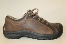 Keen Mens Brown Leather Lace Up Casual Oxfords Mismatch Size 8.5 / 9 Shoe