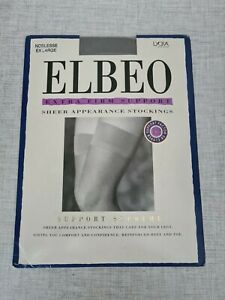 Elbeo Support Supreme Stockings Factor 12 Colour Noblesse (Grey) Extra Large
