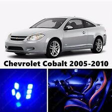 10pcs LED Blue Light Interior Package Kit for Chevrolet Cobalt 2005-2010