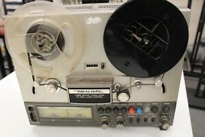 Realistic TR-3000 Stereo Reel to Reel Player and Recorder Model 14-700