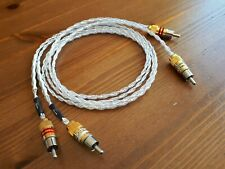 Kimber Kable KCAG - 1m - RCA silver audio interconnects