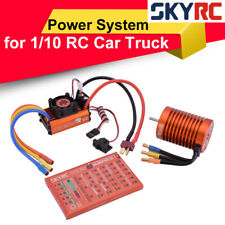SKYRC Leopard 10.0T 3930KV Brushless Motor 60A ESC Programming Card Power System