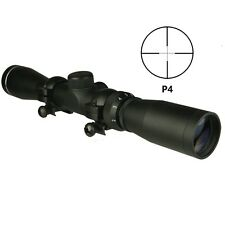 Tactical 2-7x32 Long Eye Relief Pistol Rifle Scout Scope P4 Lens Cap and Ring