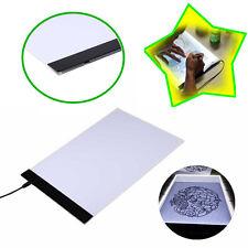Portable Boîte A4 LED Stencil Light Board Tracing Table Dessin Pad + câble USB