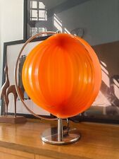 Mid Century Moonlamp Lamellenlampe Tischlampe Verner Panton Stil 70s Space Age