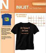 "Neenah Jet Opaque II dark Transfer Paper for Dark Colors 8.5"" x11"" (25 Sheets)"
