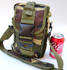 Trauma First Aid Bag Utility MOLLE Medical Bug Out Bag Pouch (Woodland Camo)