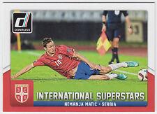 NEMANJA MATIC 2015 Donruss Soccer International Superstars #80 Serbia
