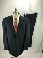 Brooks Brothers Men's Blue Pinstripe Suit 42L 36 x 31