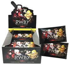 RWBY Collector Cards Series 1 Booster - Factory Sealed Box (36 Packs)