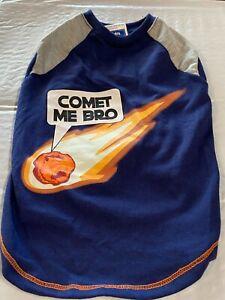 """Glow in the Dark Dog Shirt """"Comet at Me Bro"""""""