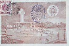 L) 1948 BRAZIL, V NATIONAL EUCHARISTIC CONGRESS, CROSS, SHIELD, CROWN, ARCHITECT