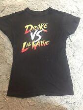 Nwot Drake vs. Lil Wayne Tour 2014 Rap Concert Tour t-shirts Size S