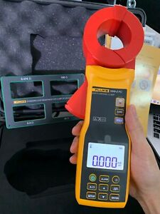 Fluke 1630 2FC Earth Ground Clamp AC Current Meter W/ Wireless Connect Phone PC