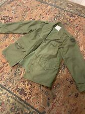 Vintage ALPHA INDUSTRIES OG-107 FIELD COAT Army Jacket WOMENS 12R - M-65 Surplus
