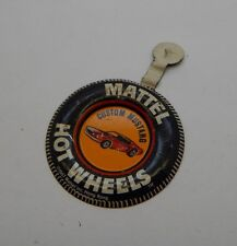Redline Hotwheels Button Badge Metal Hong Kong Custom Mustang R17272