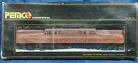 Pemco 3304 GGI Penn Central 4828 Electric LOCOMOTIVE. VINTAGE HO SCALE. MINT