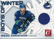 2010/11 Panini Donruss #39 Mikael Samuelsson Boys of Winter Jersey Insert