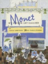 My Sticker Art Gallery Monet  (UK IMPORT)  BOOK NEW