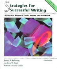 Strategies for Successful Writing: A Rhetoric, Research Guide, Reader, and Hand