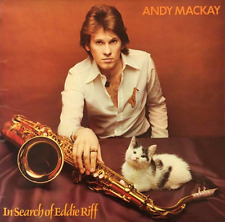 ANDY MACKAY - In Search Of Eddie Riff (LP) (VG-/VG)
