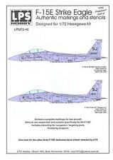 LPS Decals 1/72 F-15E STRIKE EAGLE Operation Iraqi Freedom Part 4