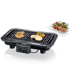 Severin - 2790 - Barbecue de table - 2500 W - XXL - noir moins de  fumée