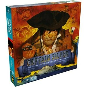 Captain Silver: Revenge Treasure Island Expansion - Board Game - New