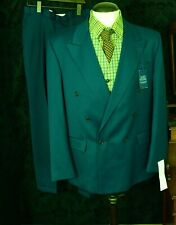 Mens Vtg Burtons Lindby hop swing DB Double Breasted Suit 1940's 44 34w 31 1/2 L