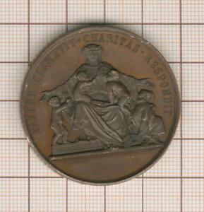 Paris médaille pour les pauvres, bureau de bienfaisance 1863 Mr Pelletier