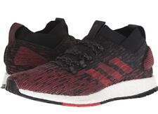 Adidas Men's Pureboost Running Shoes; Red