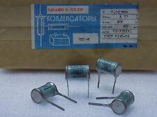 4x KBG-I --( 0.03uF 10% , 600V )-- Ceramic PIO Capacitors КБГ-И NOS Made in USSR