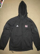 EXCELLENT Adidas ClimaWarm Missouri State zip-up hooded jacket - womens L mens M